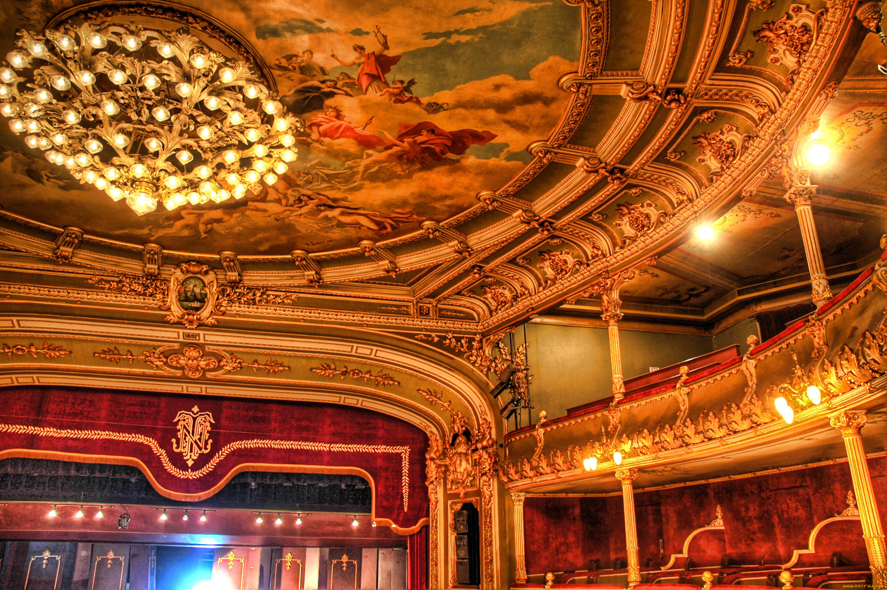 интерьер театра фото город